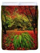 Arboretum Primary Colors Duvet Cover