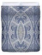Arc De Triomphe Du Carrosel Paris Kaleidoscope Vertical Duvet Cover