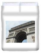 Arc De Triomphe, Paris, France Duvet Cover