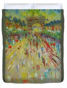 Arc De Triomphe Paris Duvet Cover