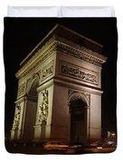 Arc Du Triomphe Paris Duvet Cover