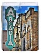 Arcadia Theater Duvet Cover