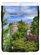 Arcadia University Castle - Glenside Pennsylvania Duvet Cover