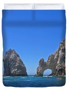 Arch At Cabo San Lucas Duvet Cover