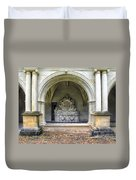 Arch At Fontevraud Abbey  Duvet Cover