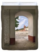 Arch At La Purisima Duvet Cover