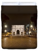Arch At Night Duvet Cover