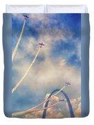 Arch Flight Duvet Cover by Susan Rissi Tregoning