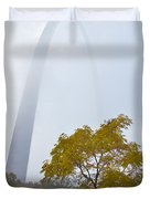 Arch In The Fog Duvet Cover