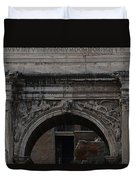 Arch Of Septimius Severus Duvet Cover