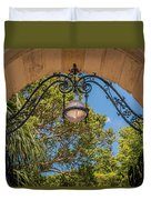 Arch Of The Past Duvet Cover