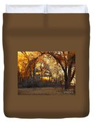 Arch Of Trees Duvet Cover