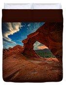 Arch Rock Duvet Cover