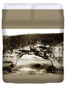 Arch Rock, Santa Cruz, California Circa 1900 Duvet Cover