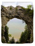 Arch Rock Duvet Cover
