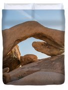 Arch Rock Sunrise Duvet Cover