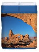 Arch Though An Arch Duvet Cover