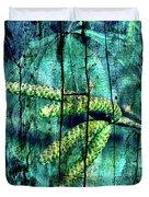 Archaic Blue Dream Duvet Cover