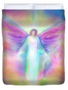 Archangel Raphael Healing Duvet Cover