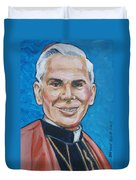 Archbishop Fulton J. Sheen Duvet Cover