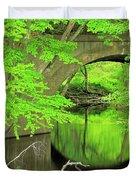 Arched Bridge Duvet Cover
