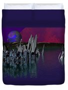 archeological Station on ERIDANUS  Beta Duvet Cover