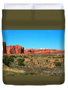 Arches National Park In Moab, Utah Duvet Cover