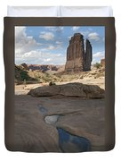 Arches National Park Park Avenue  Duvet Cover
