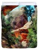 Arches National Park Trail Duvet Cover