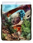 Arches National Park Trail Duvet Cover