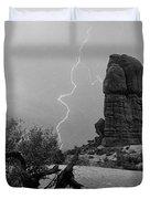 Arches National Park Utah-signed Duvet Cover