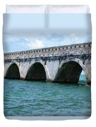 Arches Of The Bridge Duvet Cover