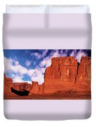 Arches Pano Duvet Cover