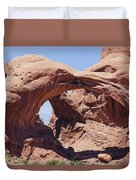 Arches-windows Duvet Cover
