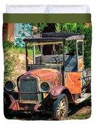 Archies Chevolet Taos Nm Duvet Cover