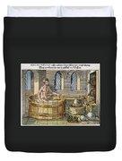 Archimedes Duvet Cover