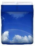 Arching Rainbow Duvet Cover