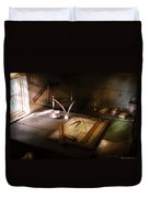 Architect - The Drafting Table  Duvet Cover
