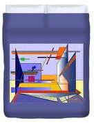 Architectural Abstract 2 Duvet Cover