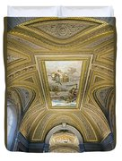 Architectural Artistry Within The Vatican Museum In The Vatican City Duvet Cover
