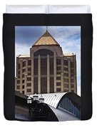 Architectural Differences Roanoke Virginia Duvet Cover