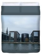 Architectural Dominance Duvet Cover