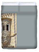Architecture Background Sintra Duvet Cover