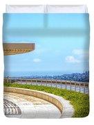 Architecture J. Paul Getty Museum California  Duvet Cover