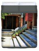 Architecture Tam Coc Vietnam Duvet Cover