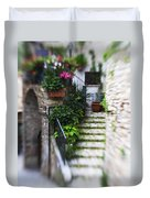 Archway And Stairs Duvet Cover