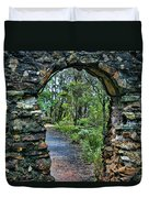 Archway To The Forest Duvet Cover