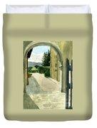 Archway Villa Mandri Duvet Cover