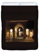 Archways At Night Duvet Cover