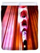 Archways Of St.john The Divine Duvet Cover